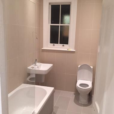 Airbnb flat renovation in London
